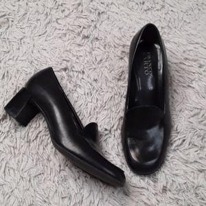 Franco Sarto Black Heels 6 1/2 W